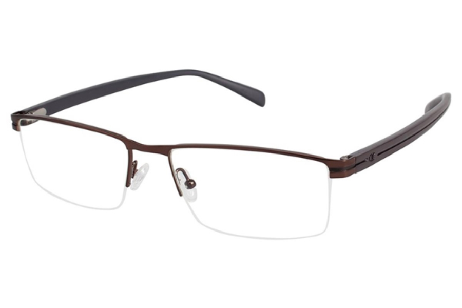 Champion 4007 Eyeglasses in C03 Shiny Brown