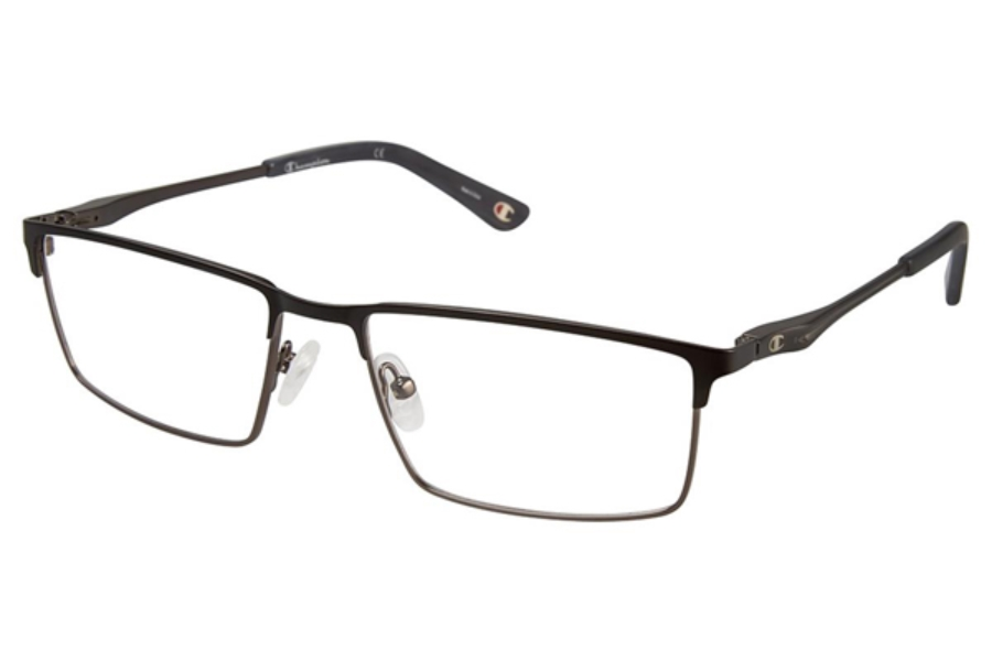 Champion 4010 Eyeglasses in C02 Black/Gun