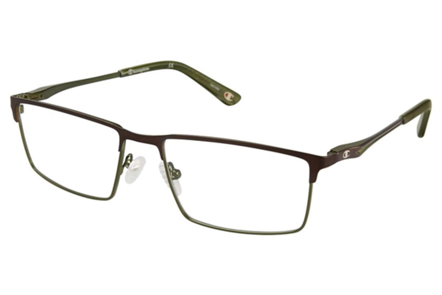 Champion 4010 Eyeglasses in C03 Brown/Green