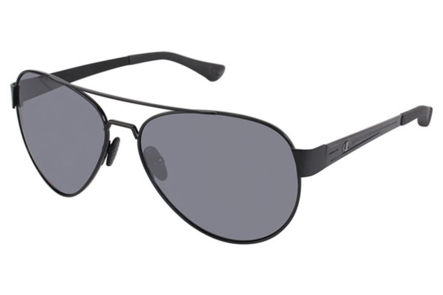 Champion 6027 Sunglasses in C02 Black/Gunmetal