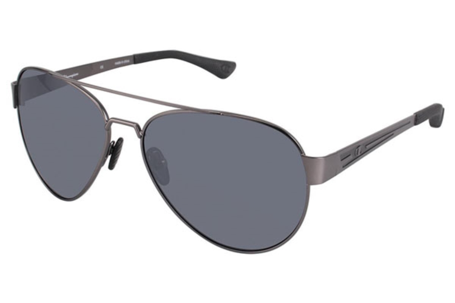 Champion 6027 Sunglasses in C01 Gunmetal/Black