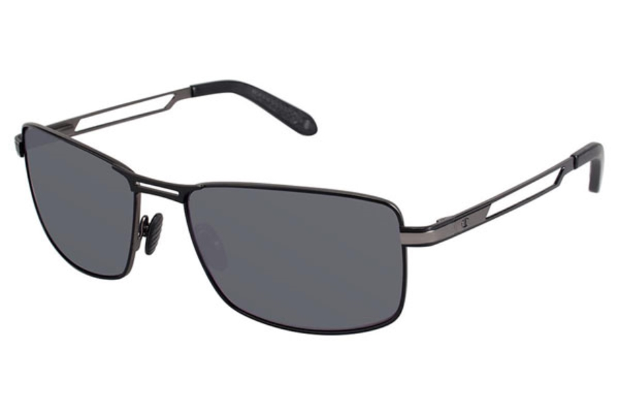 Champion 6029 Sunglasses in C02 Shiny Black