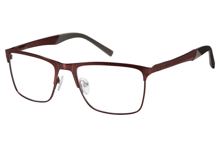 Champion FL1002 Eyeglasses in C03 Matte Brown