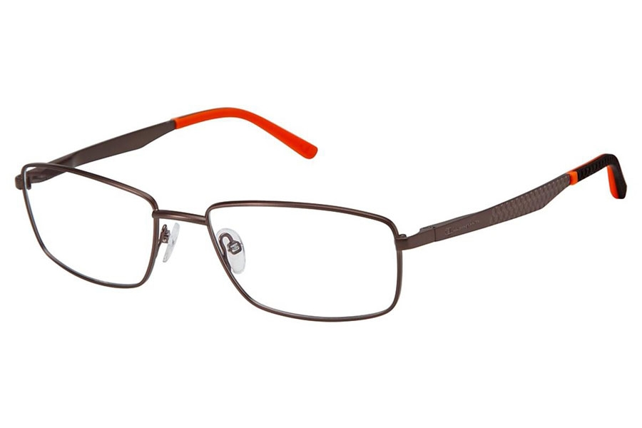 Champion FL1003 Eyeglasses in C02 Brown/Orange