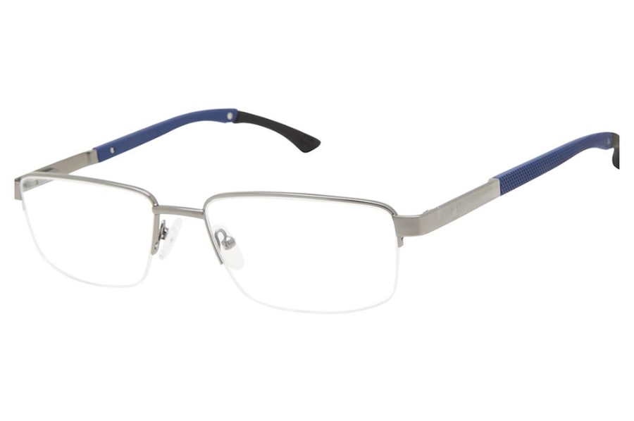 Champion Triad Eyeglasses in C03 Matte Gunmetal