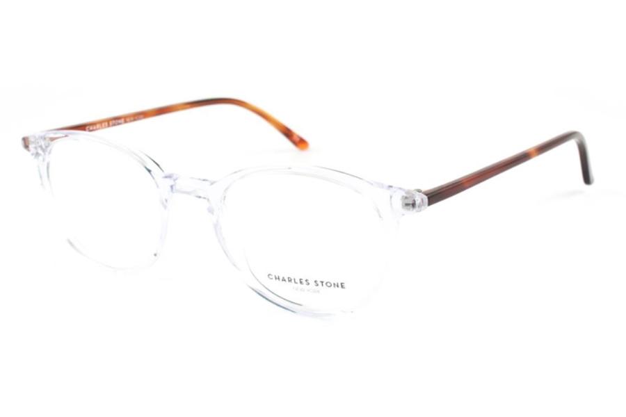 195f9f40886 ... Charles Stone New York CSNY 30002 Eyeglasses in C1 Crystal Tortoise ...