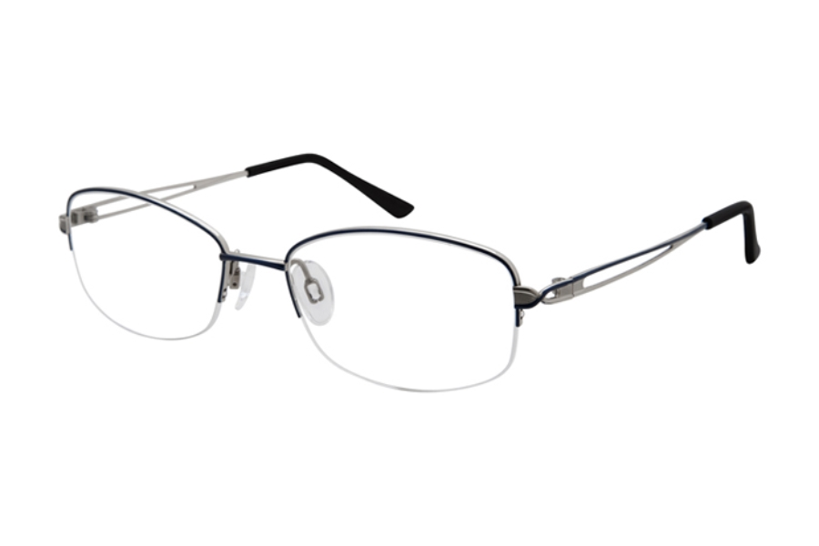 Charmant Titanium TI 29202 Eyeglasses in Blue
