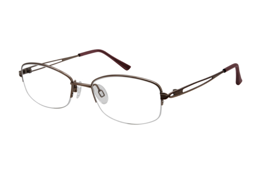 Charmant Titanium TI 29202 Eyeglasses in Rose