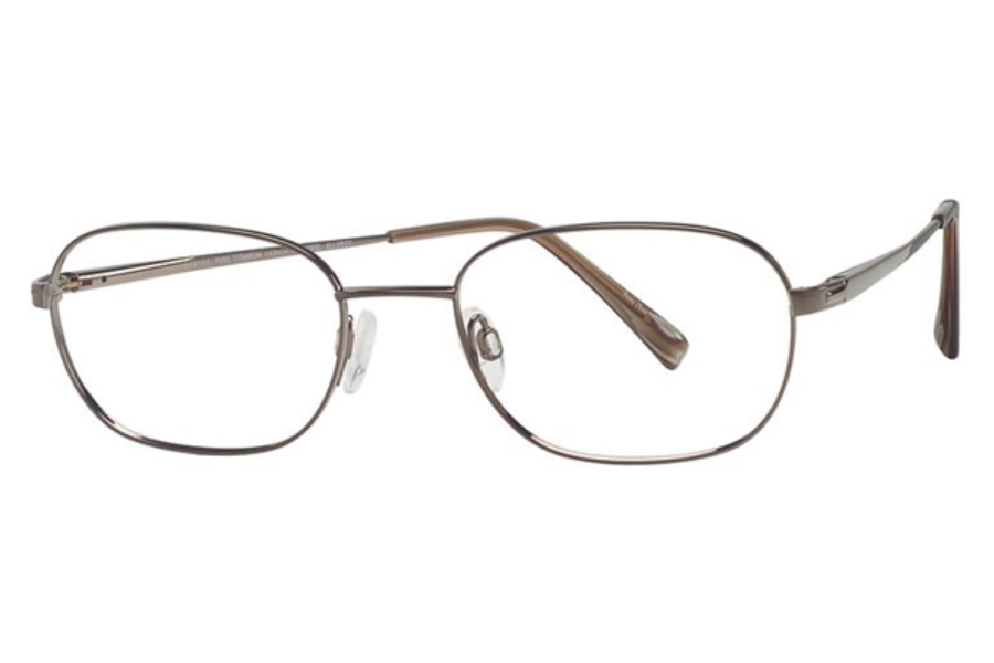 Charmant Titanium TI 8165 Eyeglasses in BR Brown
