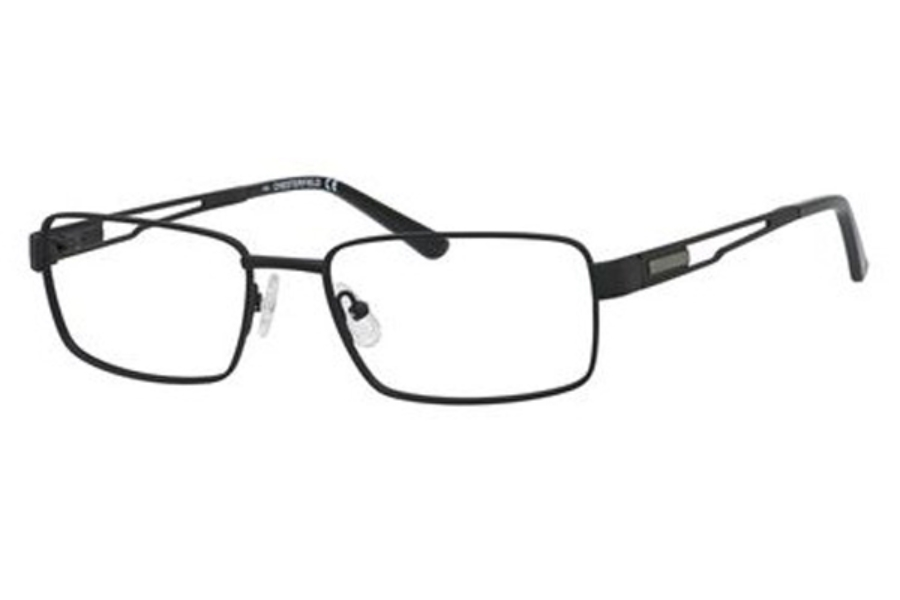 Chesterfield CHESTERFIELD 879T Eyeglasses in 0003 Matte Black