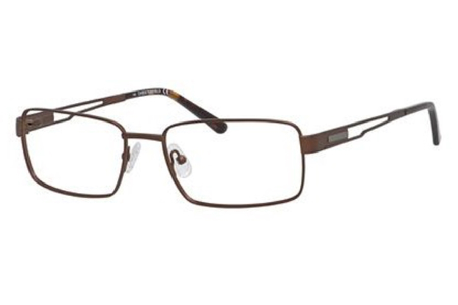 Chesterfield CHESTERFIELD 879T Eyeglasses in 0E62 Brushed Brown Brown
