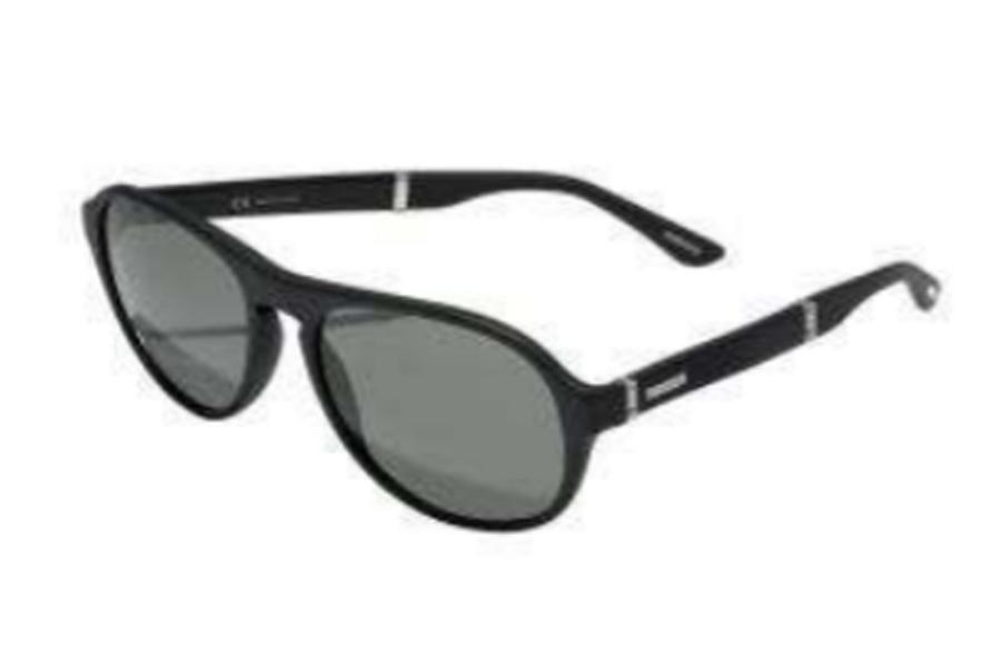 1ef0398640 ... Chopard SCH 134 Sunglasses in SCH 134-703P Matte Black Palladium Grey  Polarized ...