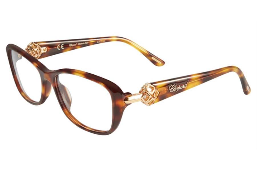 201e92306d ... Chopard VCH 159S Eyeglasses in 748 Tortoise ...