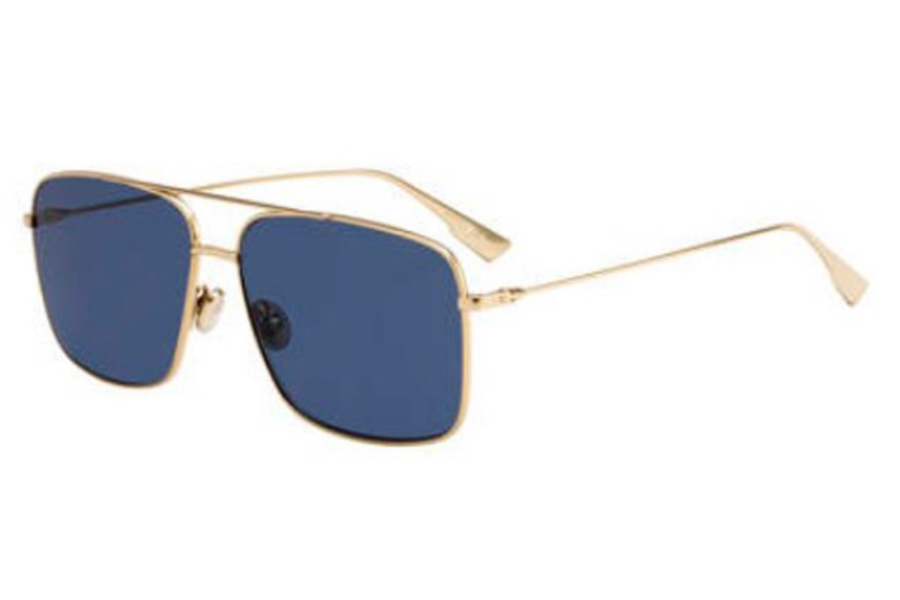 Christian Dior Stellaireo-3S Sunglasses in 0J5G Gold (KU blue avio lens)