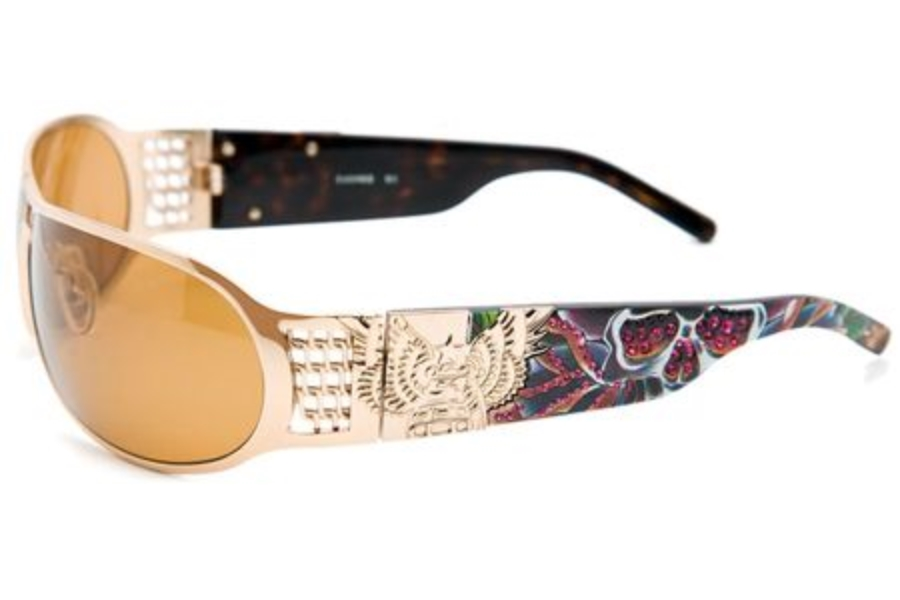 Christian Audigier CAS403 SPLATTER Sunglasses in Christian Audigier CAS403 SPLATTER Sunglasses