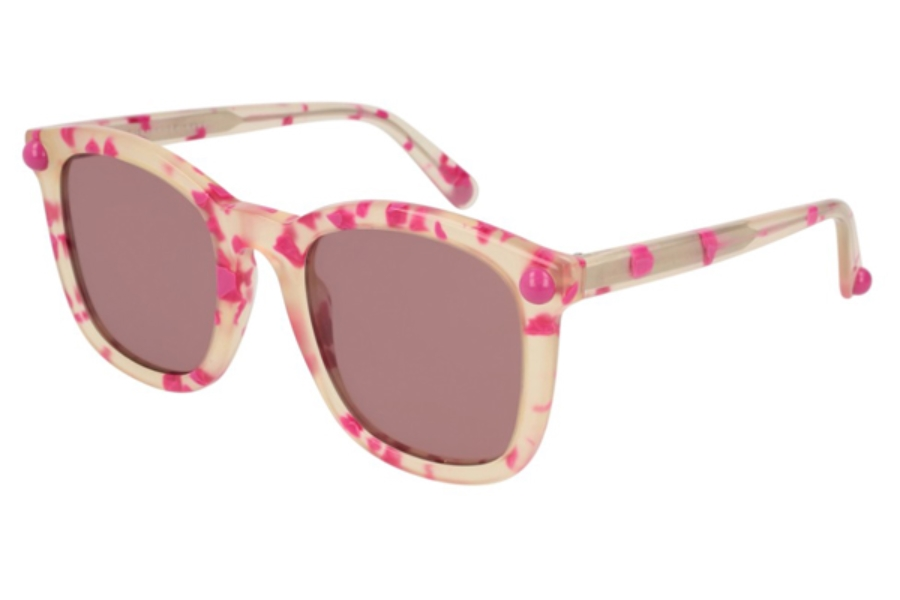 Christopher Kane CK0019S Sunglasses in 002 Havana / Violet