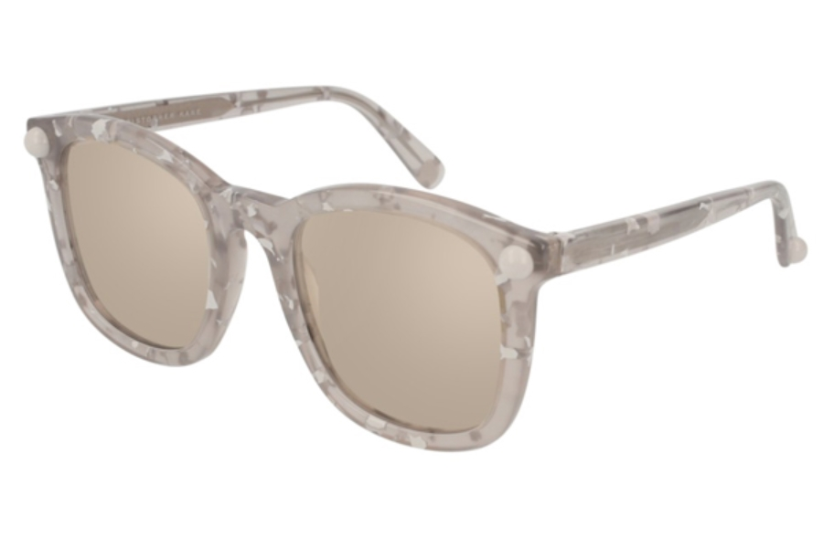 Christopher Kane CK0019S Sunglasses in 004 Havana / Silver