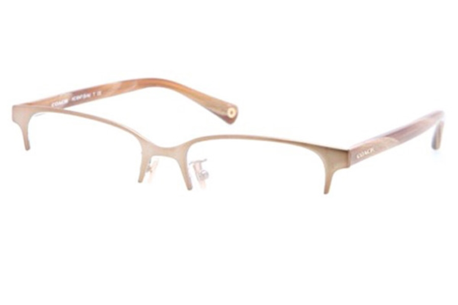 Coach HC5047 Eyeglasses in 9161 Sand/Light Brown Horn (Discontinued)