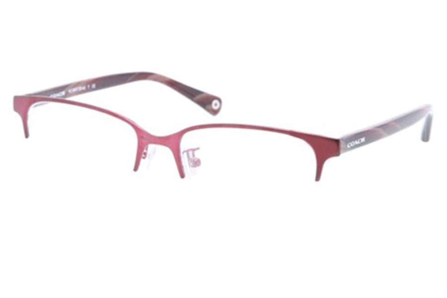 Coach HC5047 Eyeglasses in 9162 Satin Burgundy/Burgundy Horn (Discontinued)