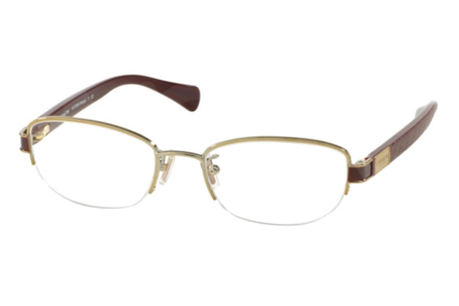 Coach HC5059 Eyeglasses in 9196 Gold/Garnet