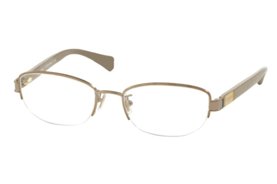 Coach HC5059 Eyeglasses in 9198 Sand/Sepia