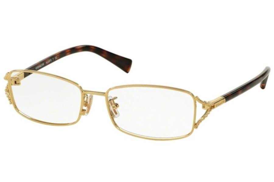 Coach HC5073 Eyeglasses in 9238 Gold/Dark Tortoise