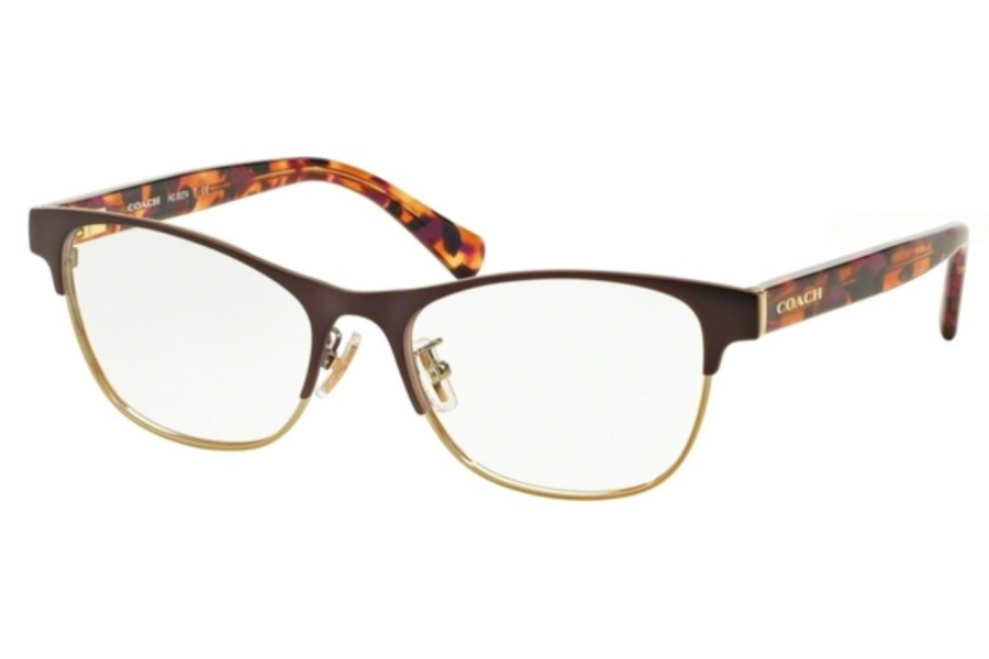 Coach HC5074 Eyeglasses in 9241 Satin Prpl Gold/Prpl Confetti
