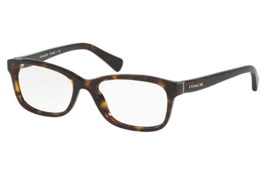 Coach HC6089 Eyeglasses in 5120 Dark Tortoise (51 Eyesize Only)