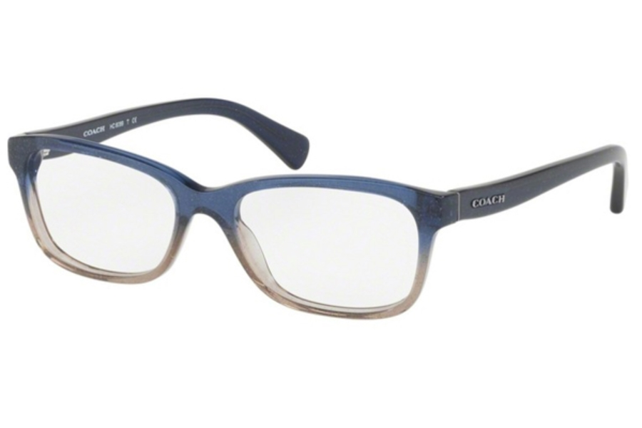 Coach HC6089 Eyeglasses in 5474 Denim Taupe Glitter Gradient (Discontinued)