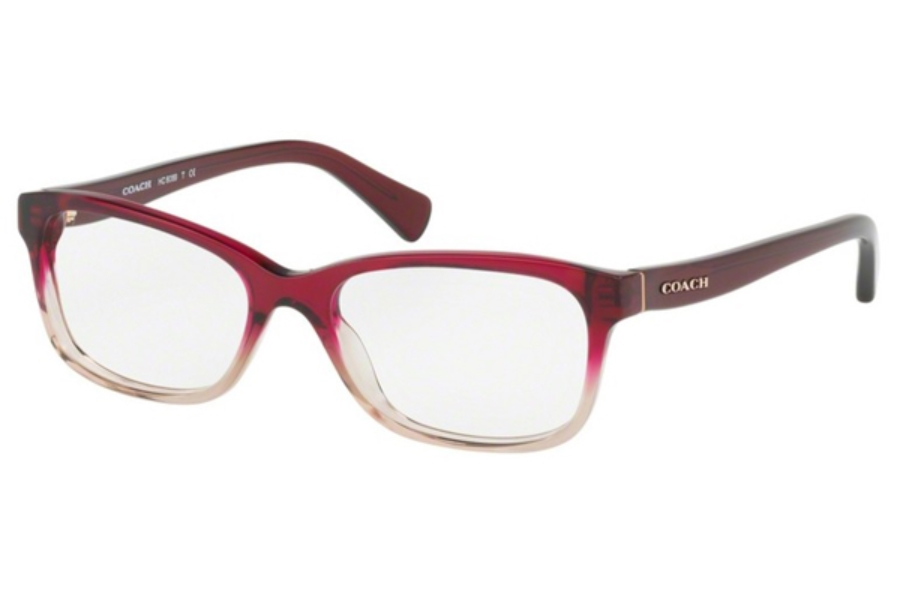 Coach HC6089 Eyeglasses in 5484 Red Sand Gradient (51 Eyesize Only) (Discontinued)