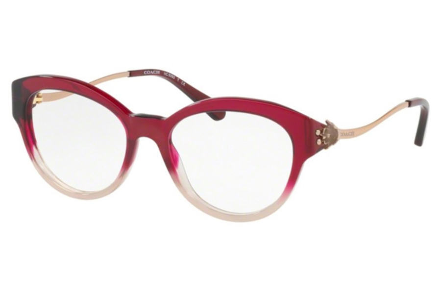 Coach HC6093 Eyeglasses in 5473 Red Sand Gradient