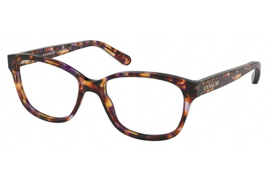 Coach HC6103 Eyeglasses in 5548 Purple Tortoise (Discontinued)