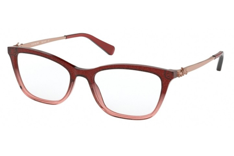 Coach HC6107 Eyeglasses in 5551 Pink Gradient With Glitter (Discontinued)