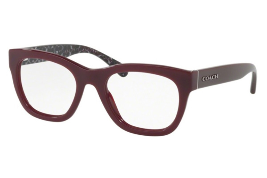 Coach HC6115 Eyeglasses in 5509 Oxblood (Discontinued)