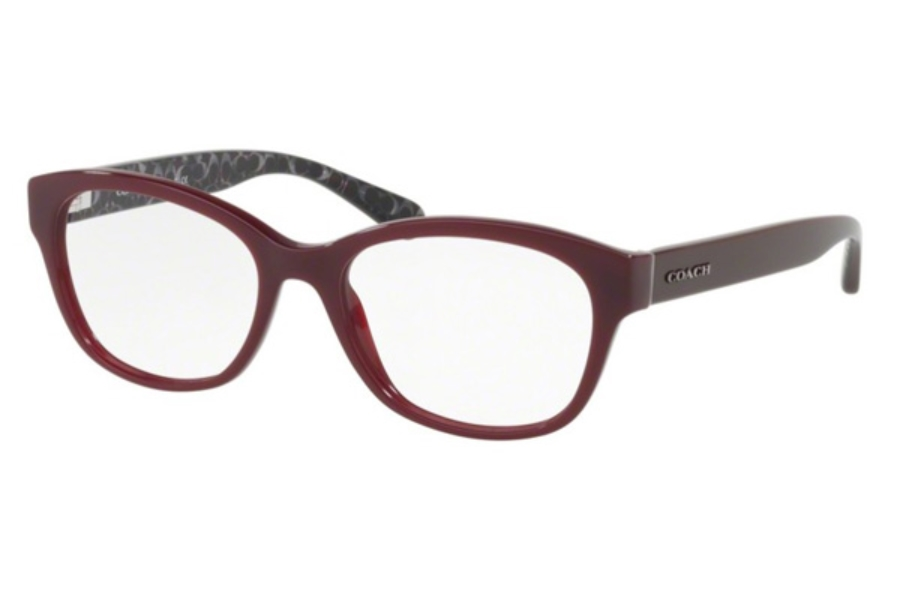 Coach HC6117 Eyeglasses in 5509 Oxblood