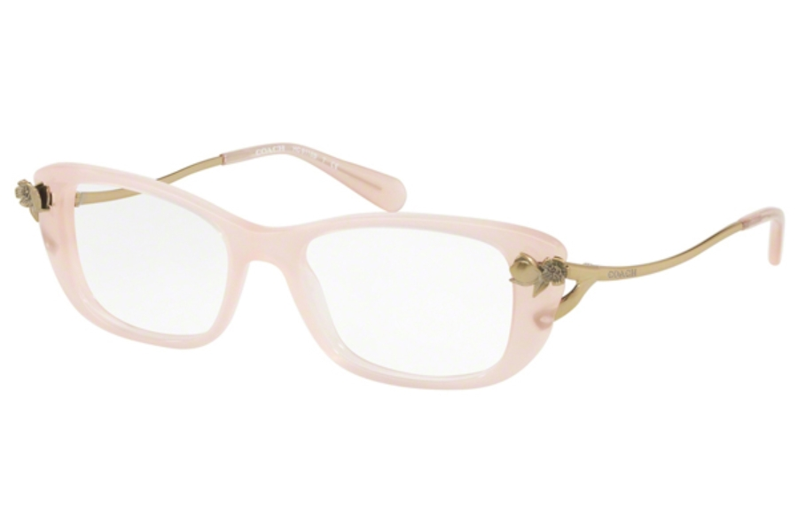 Coach HC6118BF Eyeglasses in 5113 Milky Pink Blush