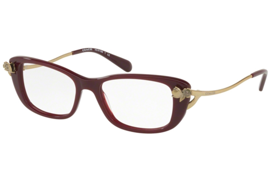 Coach HC6118BF Eyeglasses in 5520 Oxblood