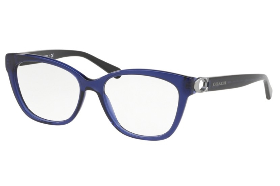 Coach HC6120 Eyeglasses in 5110 Transparent Navy