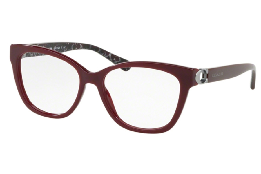 Coach HC6120 Eyeglasses in 5509 Oxblood
