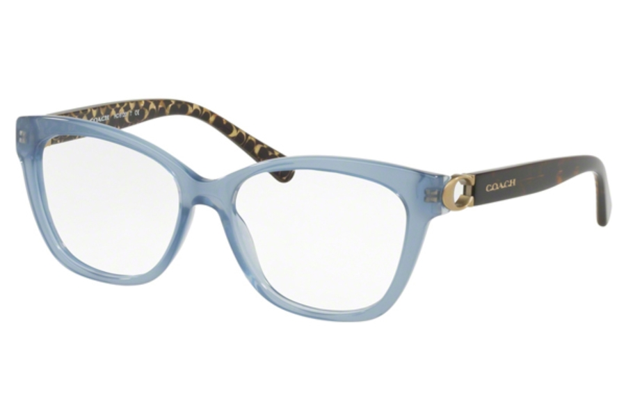 Coach HC6120 Eyeglasses in 5521 Milky Blue Denim