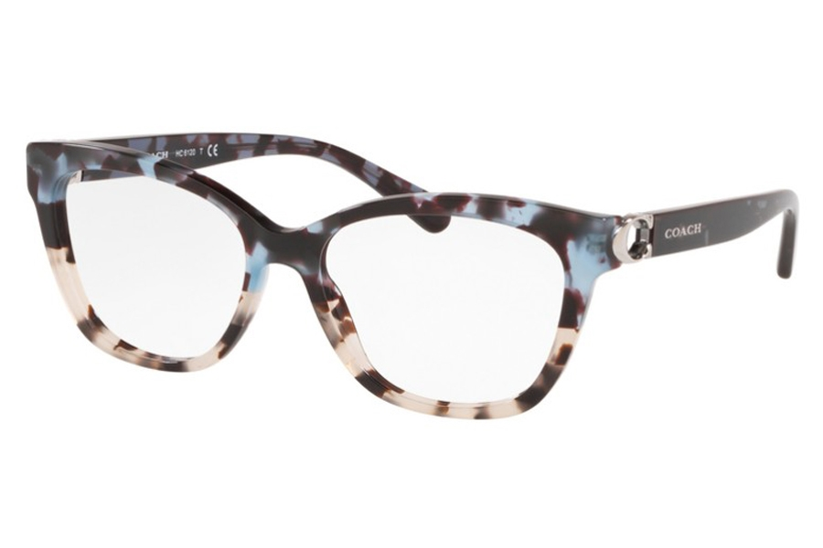 Coach HC6120 Eyeglasses in 5559 Blue Tort On Bottom / Gray Tor