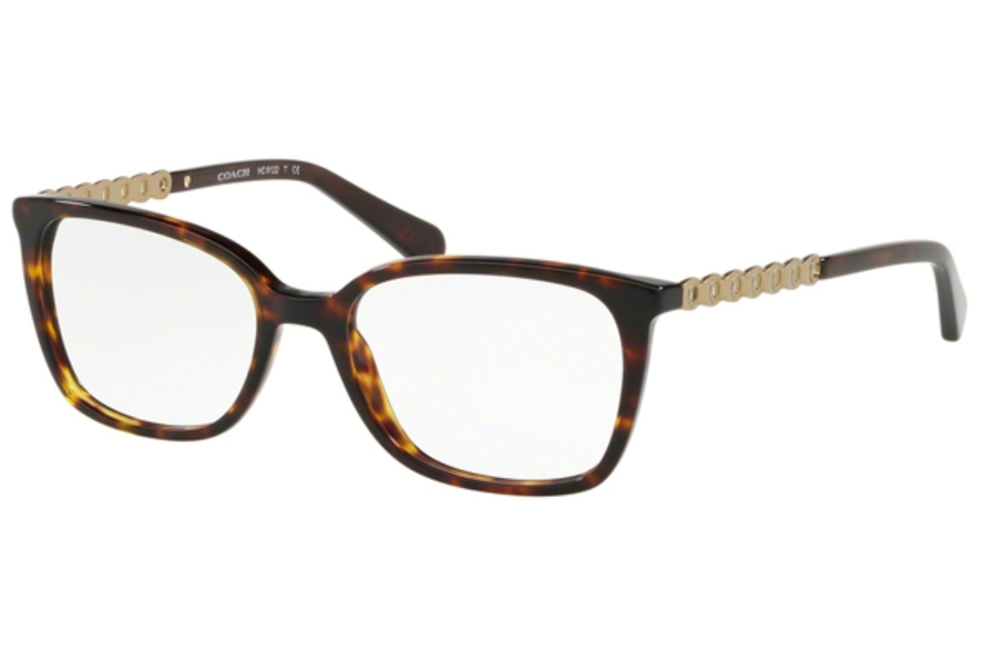 Coach HC6122F Eyeglasses in 5485 Dark Tortoise