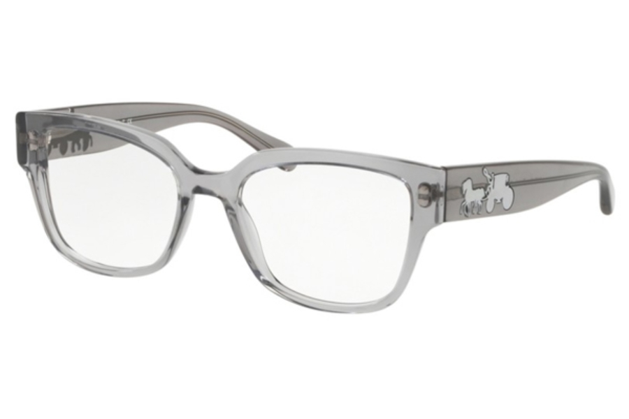 Coach HC6126F Eyeglasses in 5172 Grey Trans
