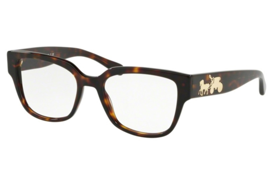 Coach HC6126F Eyeglasses in 5417 Dark Tort