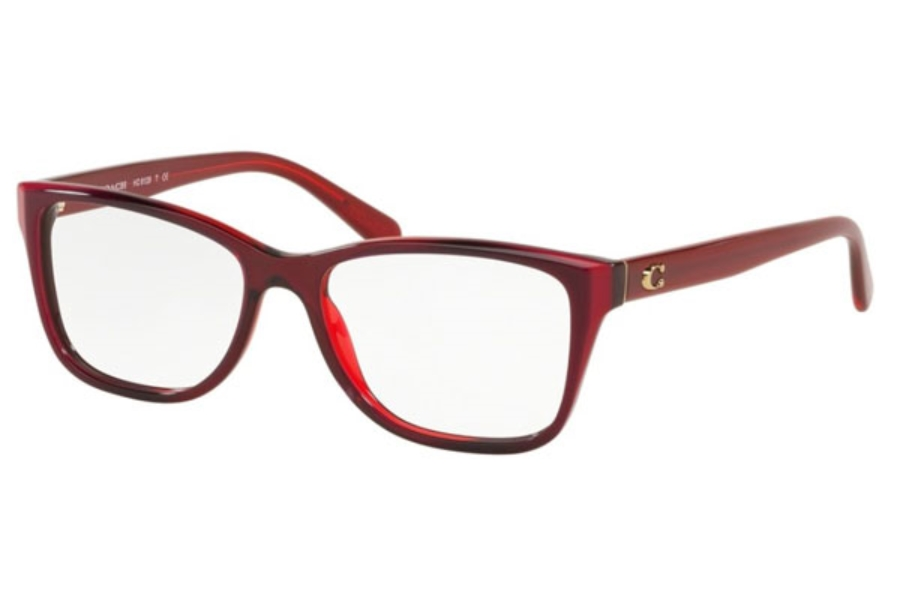 Coach HC6129F Eyeglasses in 5532 Berry Laminate