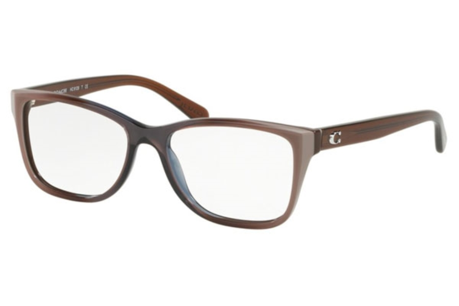 Coach HC6129F Eyeglasses in 5534 Taupe Laminate