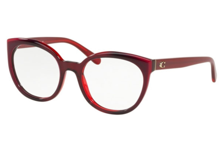 Coach HC6130F Eyeglasses in 5532 Berry Laminate