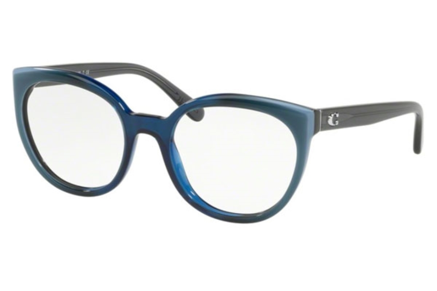 Coach HC6130F Eyeglasses in 5533 Blue Laminate