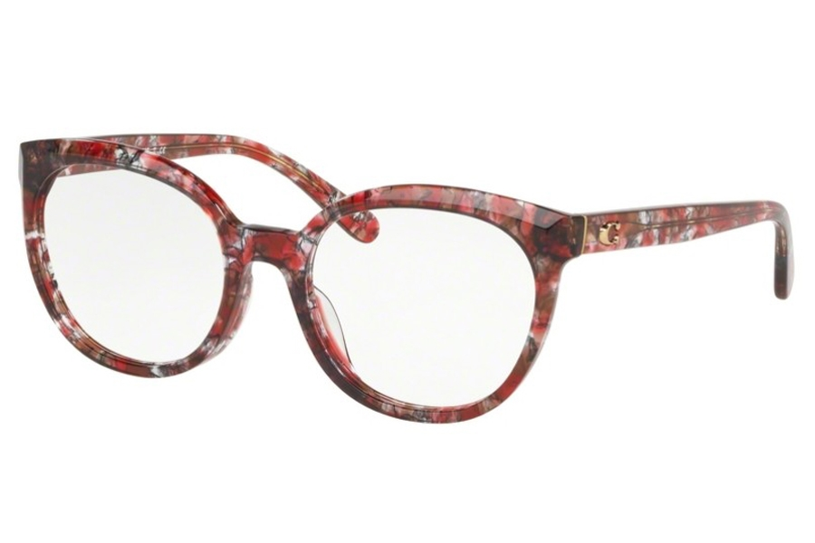 Coach HC6130F Eyeglasses in 5564 Berry Tortoise