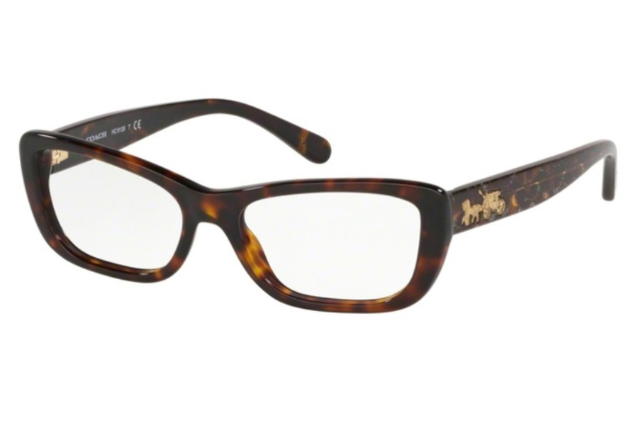 Coach HC6135 Eyeglasses in 5120 Dark Tortoise
